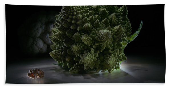 Fractal Supper Beach Towel