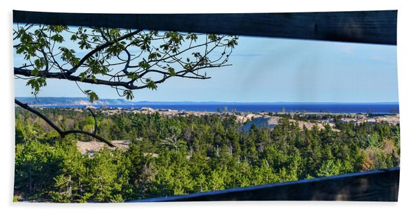 Framed View Beach Towel