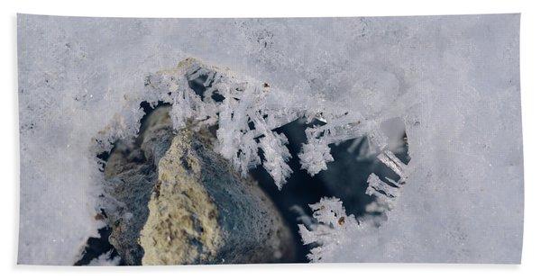 Frozen Rock Beach Towel