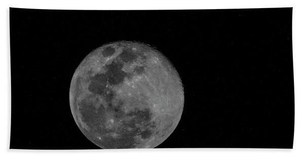 Full Moon Rising Beach Sheet