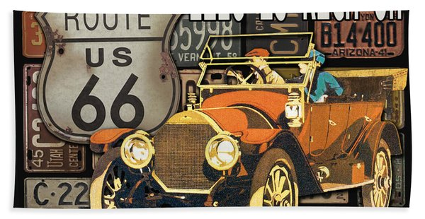 Garage Special-jp3490 Beach Towel