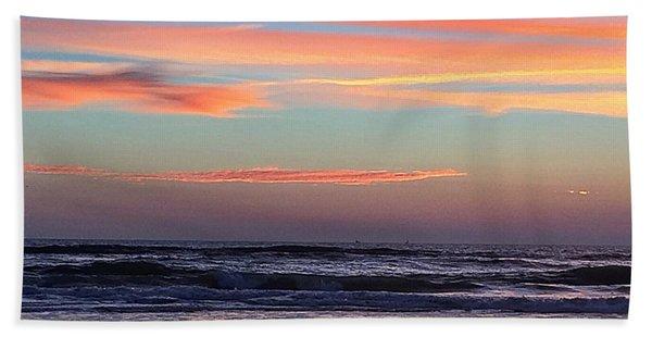 Gator Sunrise 10.31.15 Beach Towel