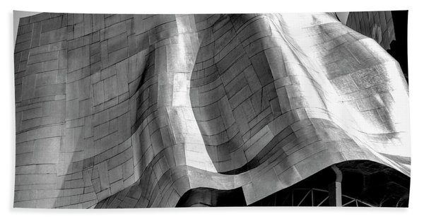 Beach Towel featuring the photograph Gehry Emp Seattle by Michael Hope
