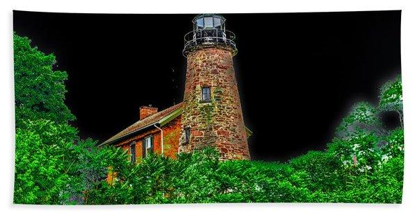 Genesee Lighthouse Beach Towel