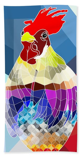 Beach Towel featuring the digital art Geo Doodle Doo by Mark Taylor