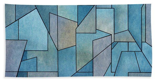 Geometric Abstraction IIi Beach Towel