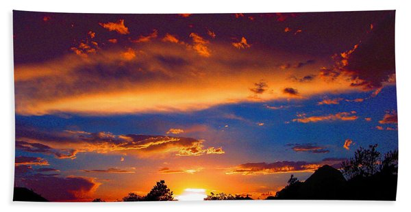 Glorious Sunset Beach Towel