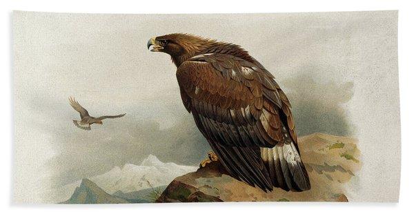 Golden Eagle By Thorburn Beach Towel