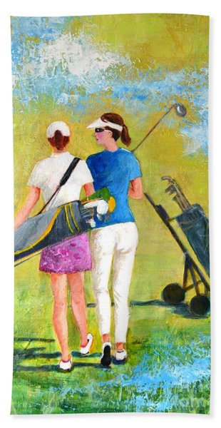Golf Buddies #1 Beach Towel