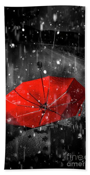 Gone With The Rain Beach Towel