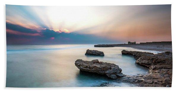 Good Morning Red Sea Beach Towel