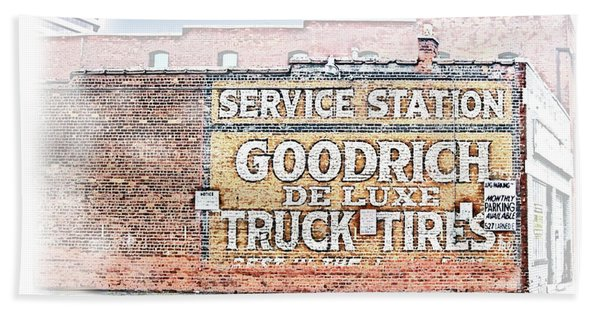 Goodrich Tires Beach Towel