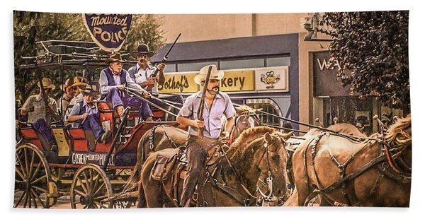Goshen Mounted Police Beach Sheet