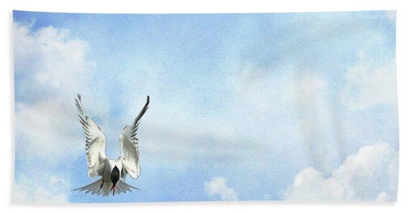 Grace In Flight - The Tern Beach Towel