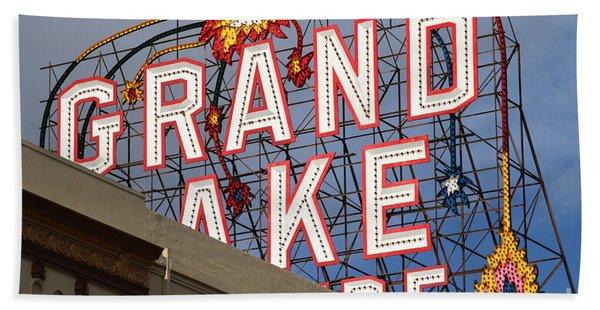 Grand Lake Theatre . Oakland California . 7d13495 Beach Towel