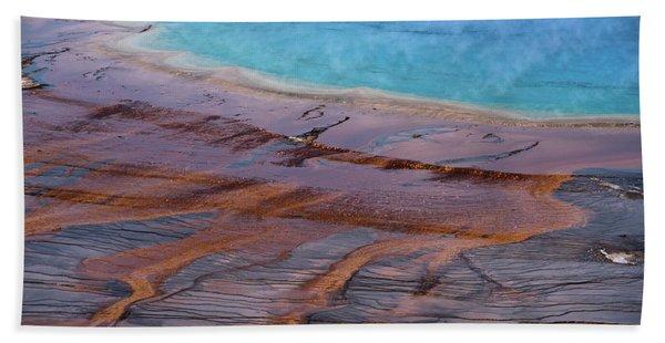 Grand Prismatic Spring Detail Beach Towel
