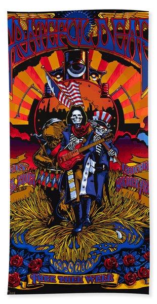 Grateful Deads Soldier Field Chicago Beach Towel