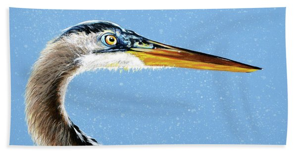Great Blue Walter Beach Towel