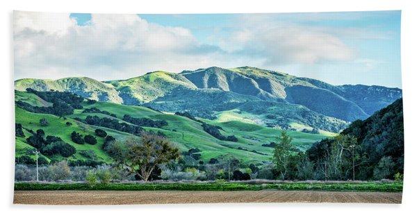 Green Mountains Beach Towel