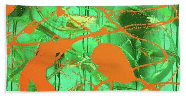 Green Spill Beach Sheet