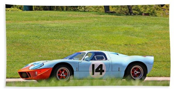 Gulf Mirage Ford Gt40 Beach Towel