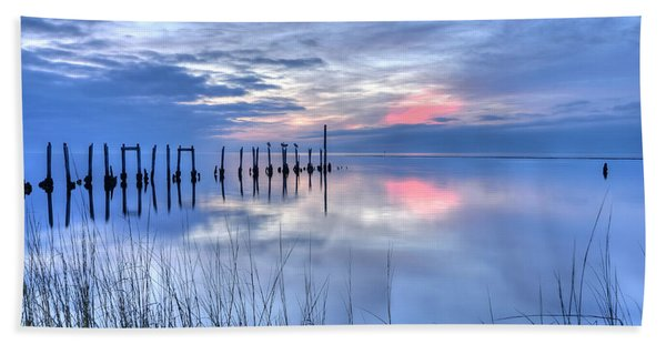 Gulf Reflections Beach Towel