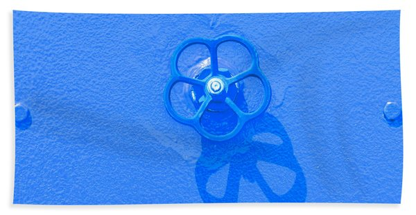 Handwheel - Blue Beach Towel