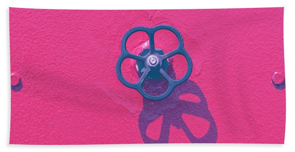 Handwheel - Red Beach Towel