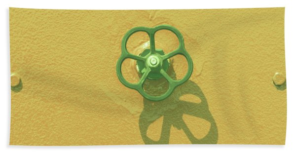 Handwheel - Yellow Beach Towel