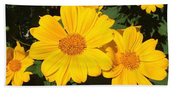 Happy Yellow Beach Towel