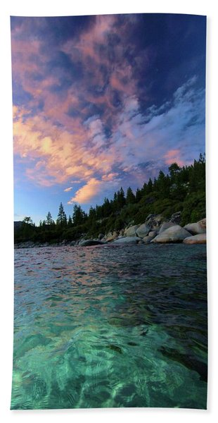 Beach Towel featuring the photograph Healing Waters by Sean Sarsfield