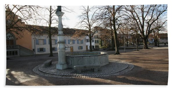 Photograph - Hedwig Fountain - Lindenhof, Zurich by Travel Pics