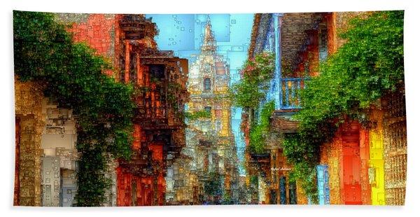 Heroic City, Cartagena De Indias Colombia Beach Towel