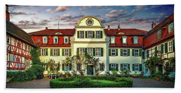 Historic Jestadt Castle Beach Towel