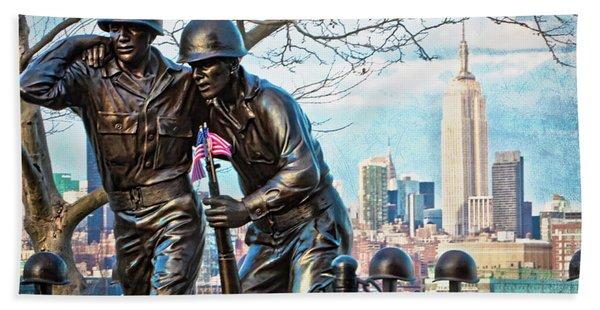 Hoboken War Memorial Beach Towel
