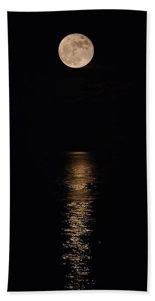 Holiday Magic - Lunar Art Beach Sheet