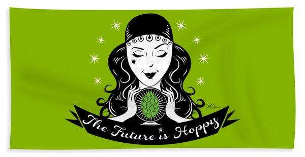 Hoppy Fortune Teller Beach Towel