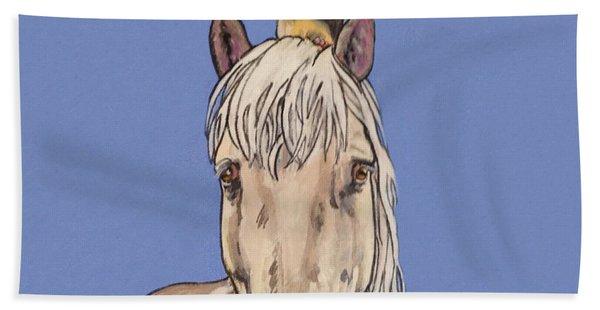 Hortense The Horse Beach Towel