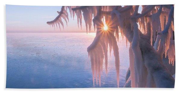 Hot Ice Beach Towel
