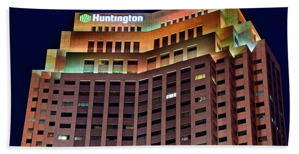 Huntington Bank Cleveland Beach Towel