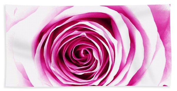 Hypnotic Pink Beach Towel