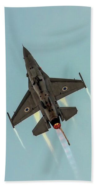 Iaf F-16i Sufa Beach Towel