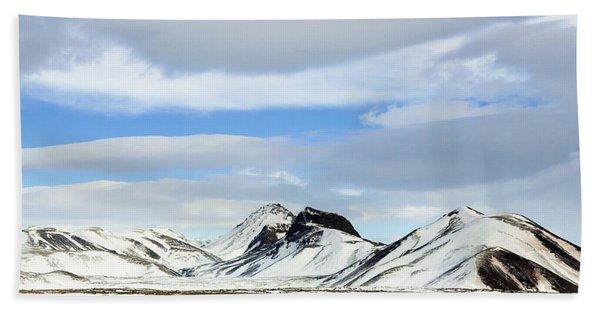Icelandic Wilderness Beach Towel