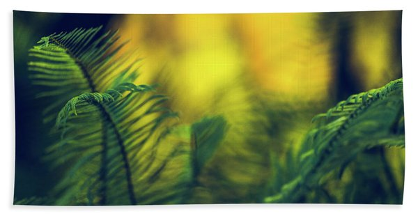 In-fern-o Beach Towel