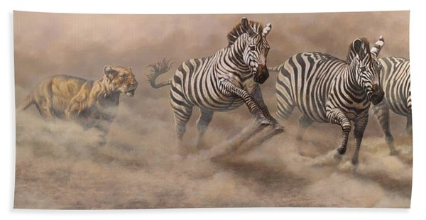In Pursuit Beach Towel