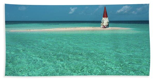 Island Gnome Beach Towel