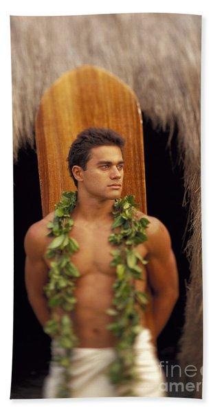 Island Man Beach Towel