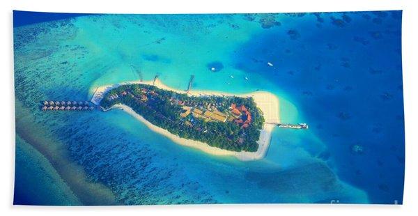 Island Of Dreams Beach Towel