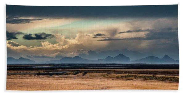 Islands In The Sky Beach Towel