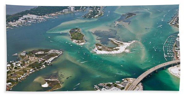 Islands Of Perdido - Not Labeled Beach Towel
